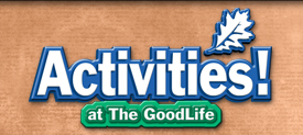 Activites at the GoodLife Adult Family Home